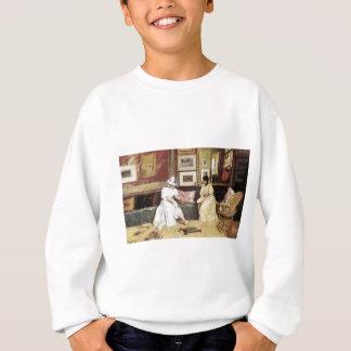 William Merritt Chase A Freindly Call Sweatshirt