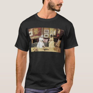 William Merritt Chase A Freindly Call T-Shirt