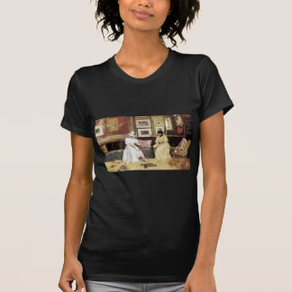 William Merritt Chase A Freindly Call Tees