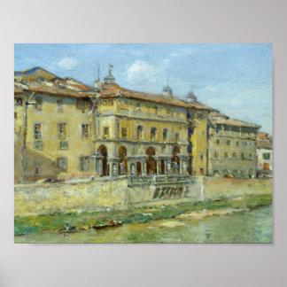 William Merritt Chase - Florence Poster