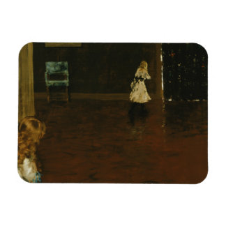 William Merritt Chase - Hide and Seek Magnet
