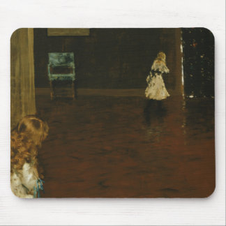 William Merritt Chase - Hide and Seek Mouse Pad
