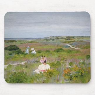 William Merritt Chase - Landscape - Shinnecock, Mouse Pad