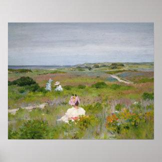 William Merritt Chase - Landscape - Shinnecock, Poster