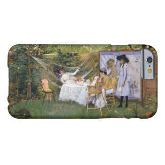 William Merritt Chase - Open Air Breakfast Barely There iPhone 6 Case