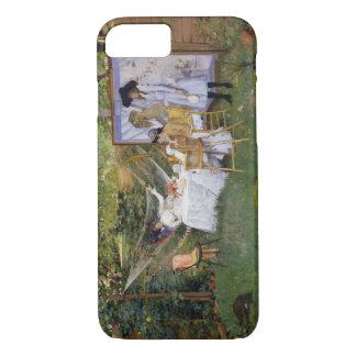 William Merritt Chase - Open Air Breakfast iPhone 7 Case