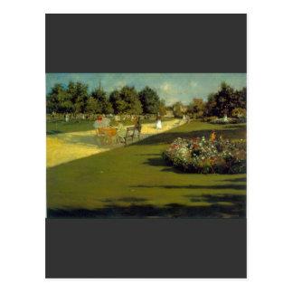 William Merritt Chase - Prospect Park Postcard