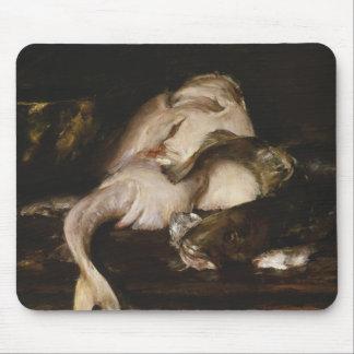 William Merritt Chase - Still Life, Fish Mouse Pad