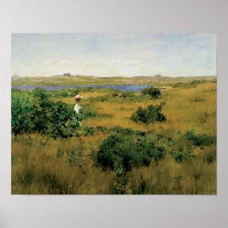 William Merritt Chase - Summer at Shinnecock Hills Poster