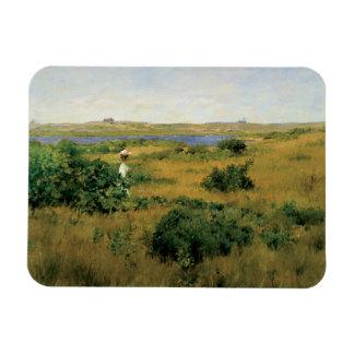 William Merritt Chase - Summer at Shinnecock Hills Rectangular Photo Magnet