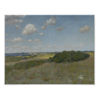 William Merritt Chase - Sunlight and Shadow Poster