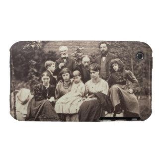 William Morris (1834-96) Sir Edward Burne-Jones (1 iPhone 3 Case-Mate Case