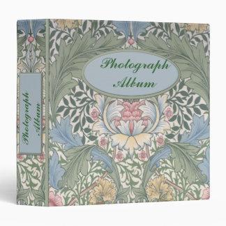 """William Morris 1.5"""" Binder"""