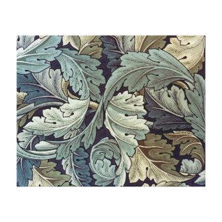 William Morris Acanthus Floral Wallpaper Design Canvas Print