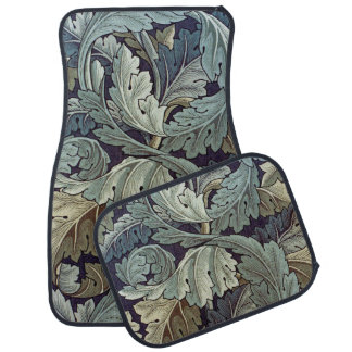 William Morris Acanthus Floral Wallpaper Design Car Mat