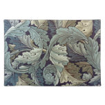 William Morris Acanthus Floral Wallpaper Design Placemat