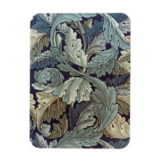 William Morris Acanthus Floral Wallpaper Design Rectangular Photo Magnet