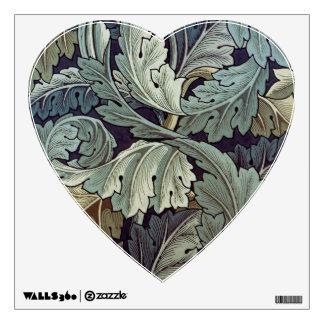 William Morris Acanthus Floral Wallpaper Design Room Sticker