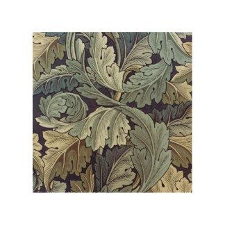 William Morris Acanthus Floral Wallpaper Design Wood Prints