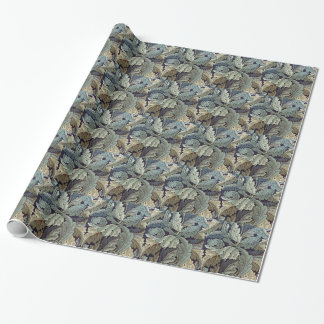 William Morris Acanthus Floral Wallpaper Design Wrapping Paper