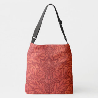 William Morris Acanthus For Velveteen Design Crossbody Bag