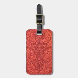 William Morris Acanthus For Velveteen Design Tag For Bags