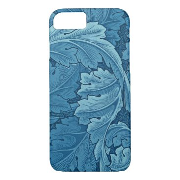 William Morris Acanthus in Blue iPhone 8/7 Case