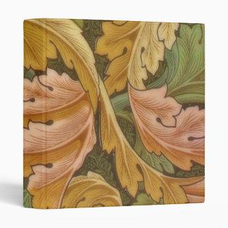 William Morris Acanthus Vintage Floral Binder