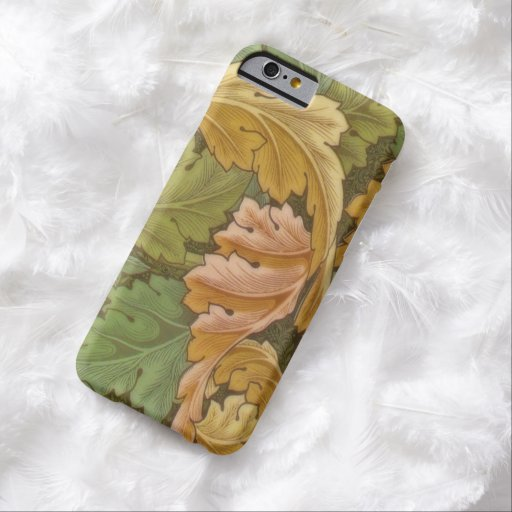 William Morris Acanthus Vintage Floral Barely There iPhone 6 Case