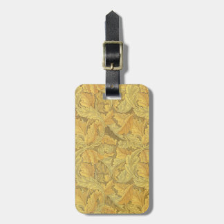 William Morris Acanthus Wallpaper Luggage Tags