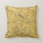 William Morris Acanthus Wallpaper Pillow