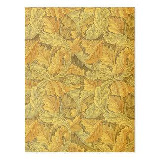 William Morris Acanthus Wallpaper Postcard