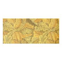 William Morris Acanthus Wallpaper Rack Card