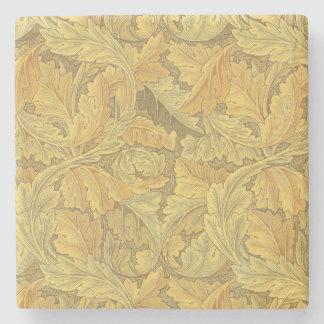 William Morris Acanthus Wallpaper Stone Coaster