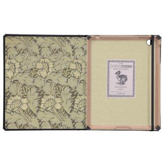 William Morris Anemone Pattern iPad Case