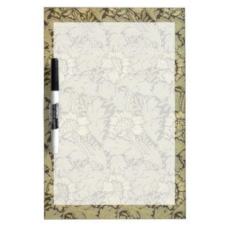 William Morris Anemone Pattern Dry-Erase Whiteboard