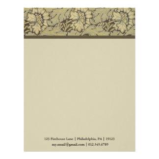 William Morris Anemone Pattern Letterhead