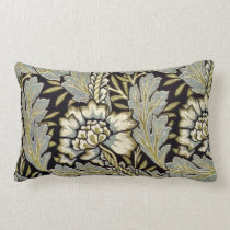 William Morris - Anemone pattern Lumbar Pillow
