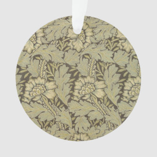 William Morris Anemone Pattern Ornament