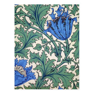 "William Morris ""Anemone"" Postcard"