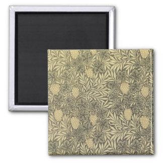 William Morris Antique Art Card 23 2 Inch Square Magnet