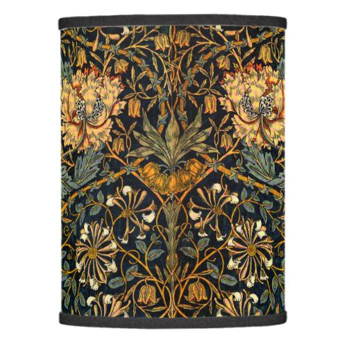 William Morris Antique Honeysuckle Floral Pattern Lamp Shade