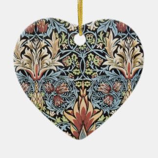 William Morris Art Ceramic Ornament