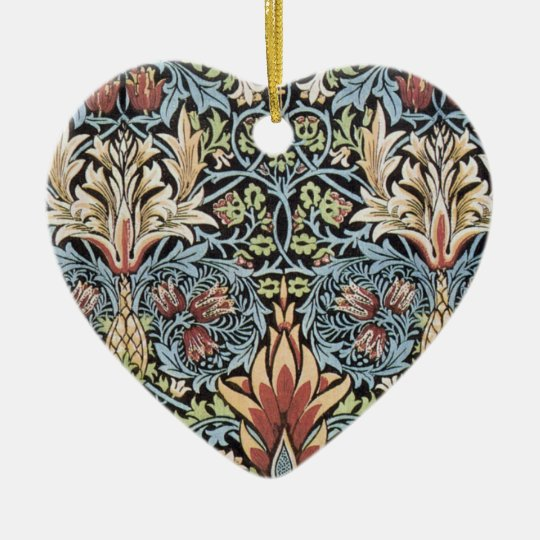 William Morris Art Ceramic Ornament