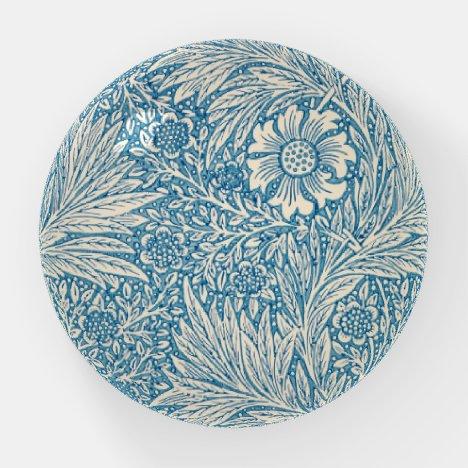 William Morris, Art Nouveau Blue Marigold Paperweight