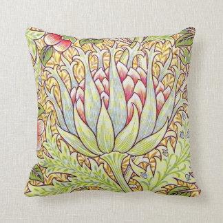 William Morris Artichoke Throw Pillow