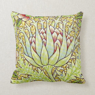 "William Morris ""Artichoke"" Throw Pillow"