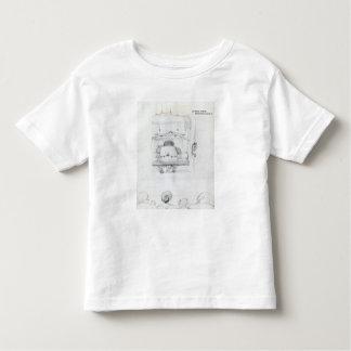 William Morris at his loom, caricature Toddler T-shirt
