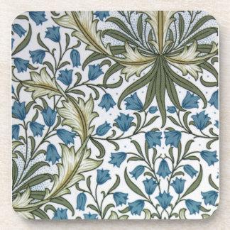William Morris bell flower harebell Coaster