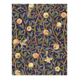 William Morris Bird And Pomegranate Full Color Flyer